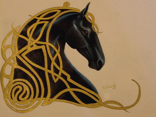 Black Celtic by saralee1125