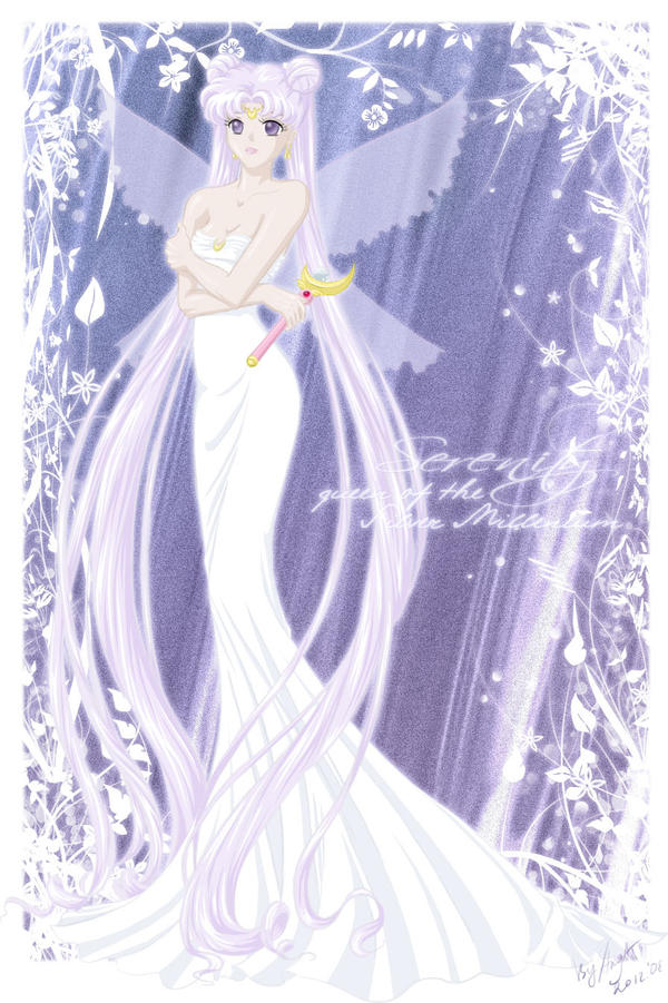 Queen Serenity by lady-narven