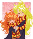 Hogwarts Slayers: LIna+Gourry