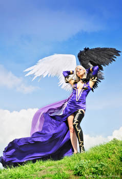 Goddess with Black Wing