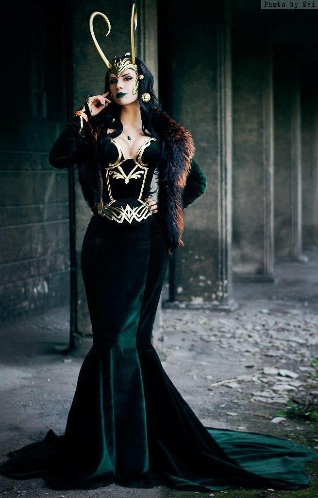 Lady Loki by lady-narven