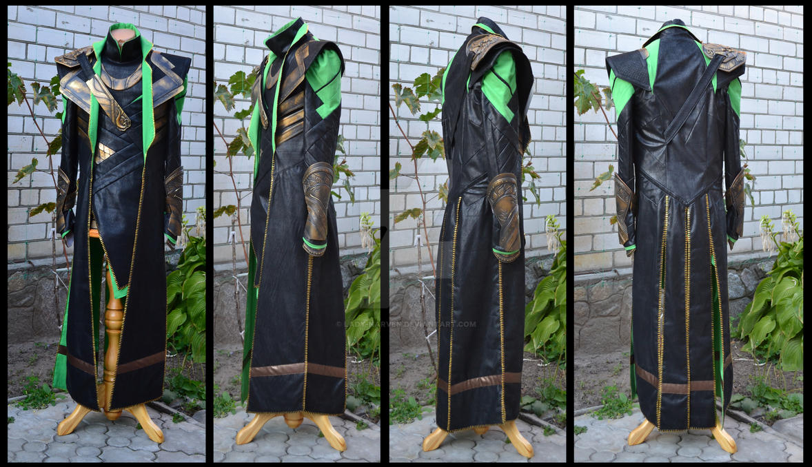 Commission Loki cosplay by lady-narven