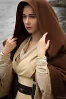 Jedi Master portrait by lady-narven