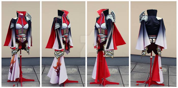 Final Fantasy Lightning cosplay set