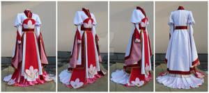 Sakura artbook dress commission