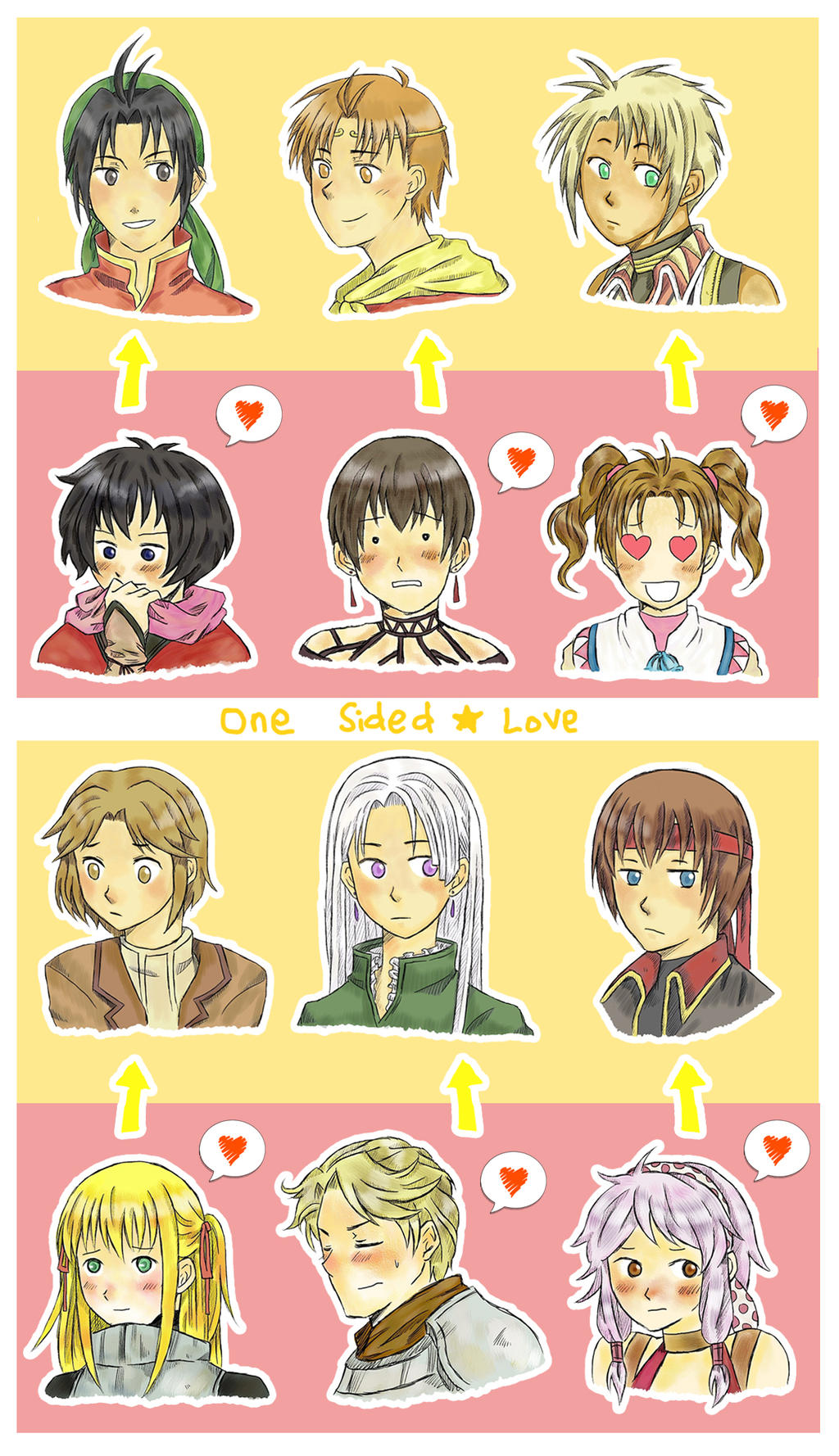one sided love anime images