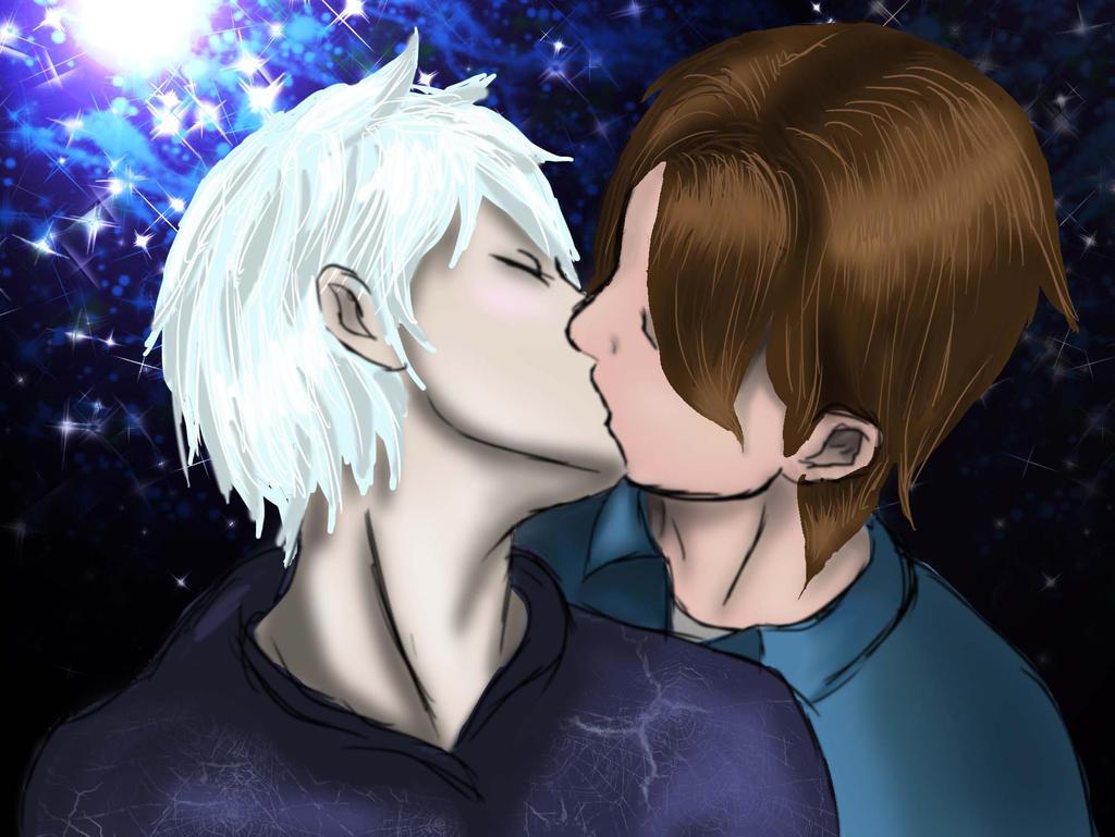 Kiss Under Starlight by midnightstarfire