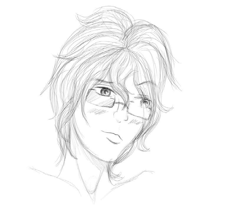 Kito Sketch by midnightstarfire