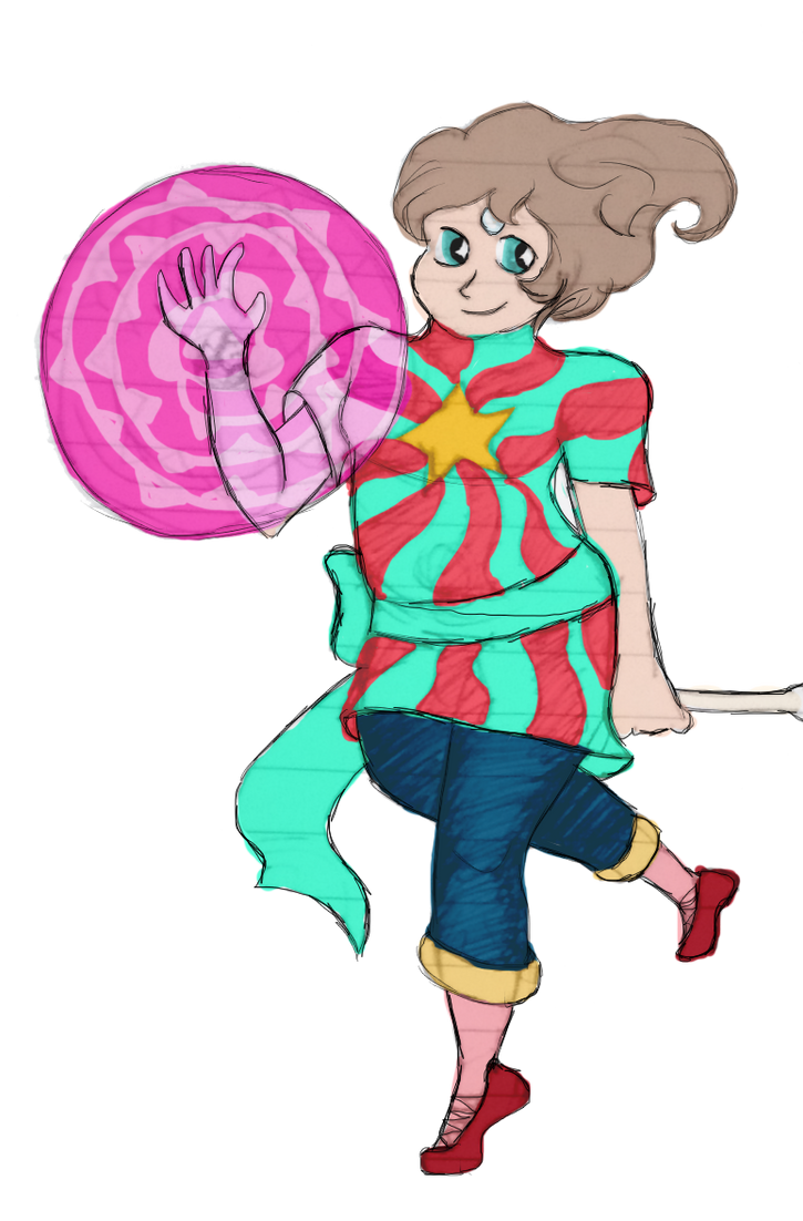 Steven and Pearl fusion Design by midnightstarfire