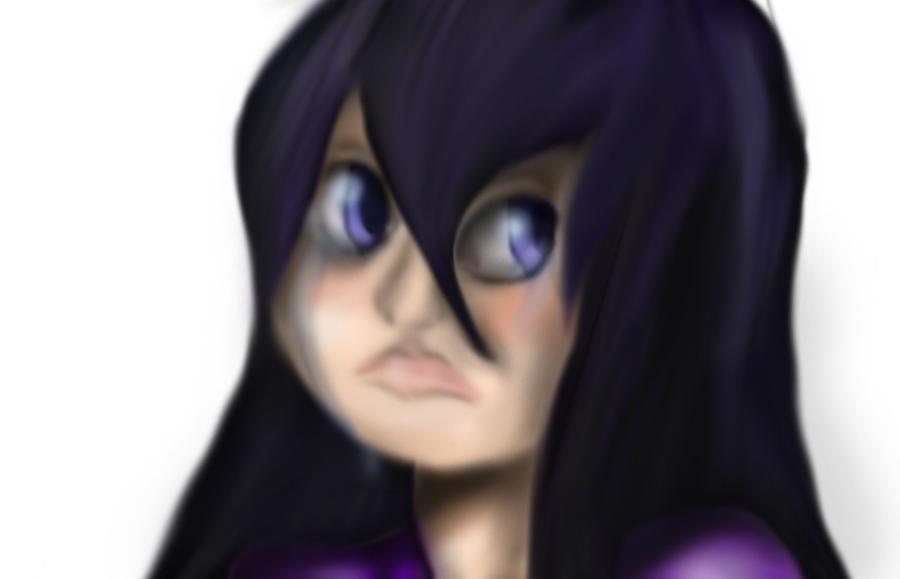 Violet speedpaint by midnightstarfire