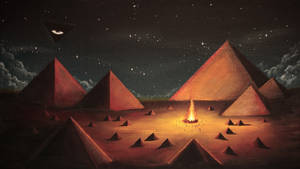Town Of Pyramids