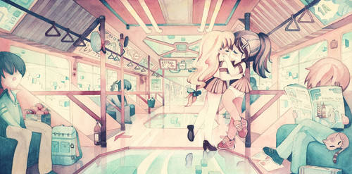 Technicolor Love by XkY
