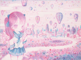Pink Meadows by XkY