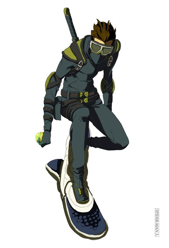 Green Goblin 2014 Suit New Goblin by yupiyupi...