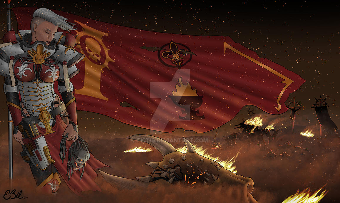 Battle Sister by Fictis