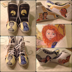 Animation custom shoes