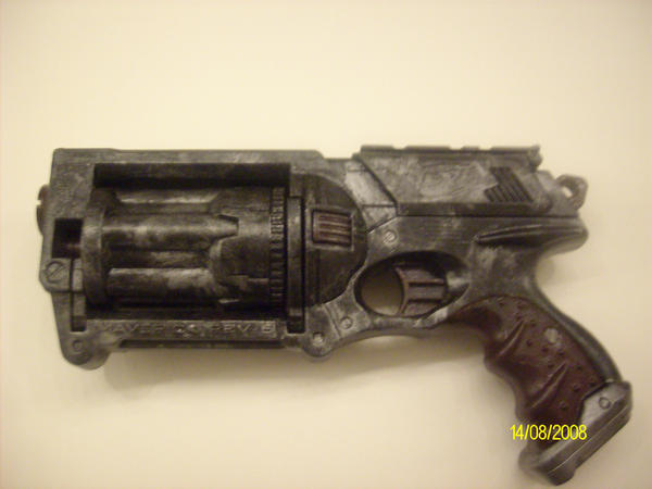 Custom Painted Nurf Assult Rifle