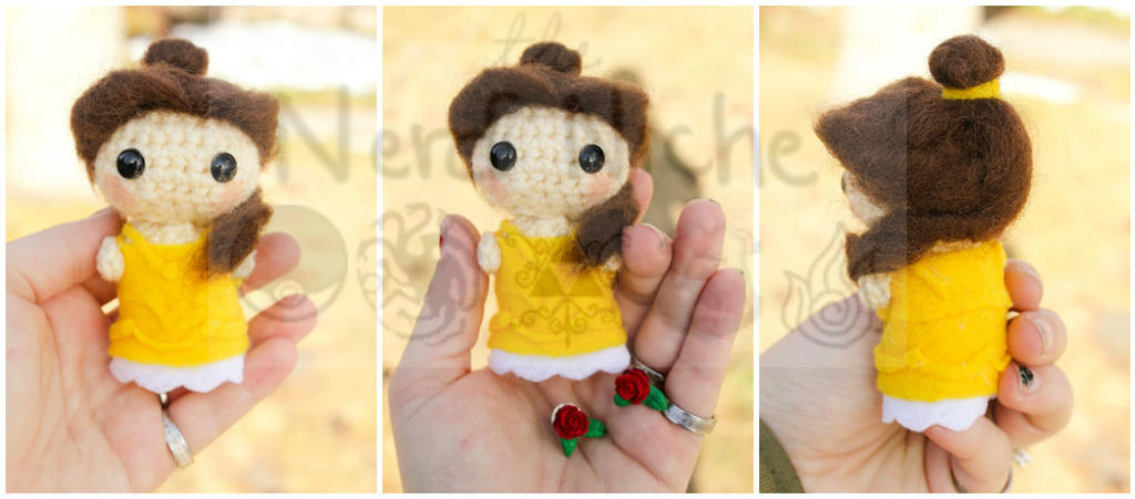 Amigurumi Disney Princess : Disney Princess Belle Amigurumi by Kaijere on DeviantArt