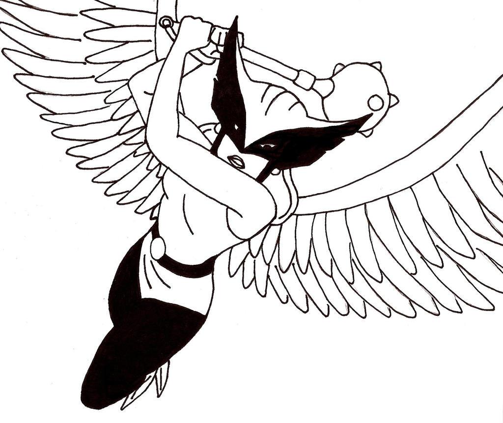 JL Hawkgirl By Wolf Tsukuri2013 On DeviantArt