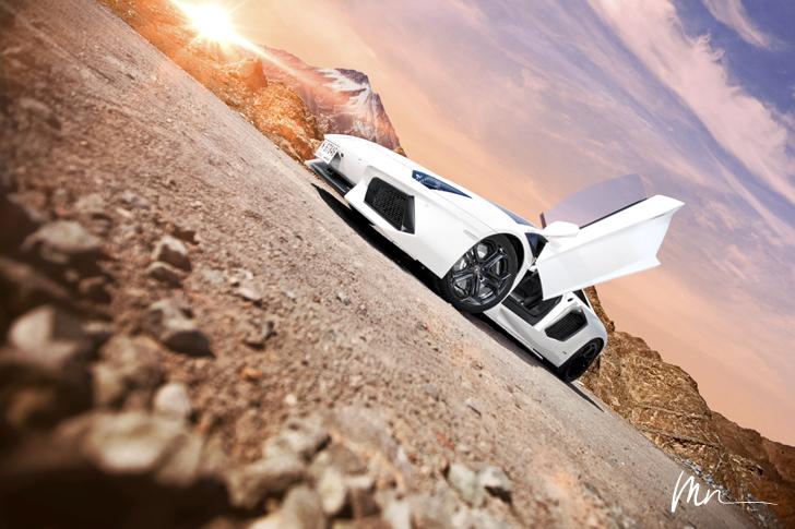 Lamborghini Aventador by MoMoMoMoe