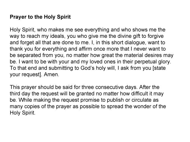 Prayer to the Holy Spirit by gaamatsugirl565 on DeviantArt