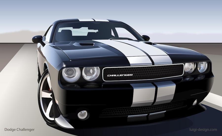 Dodge Challenger Vector by LuigiLA