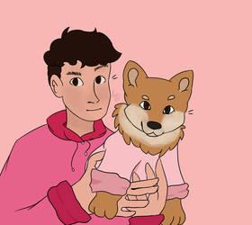 Dan And Doggo by holdiisironic