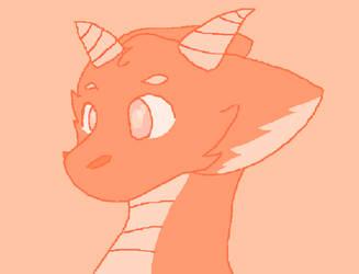 Baby Dragon! by holdiisironic