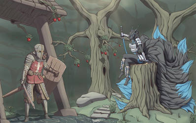 Temptrest of the Forbidden Grove. by Stalhammer