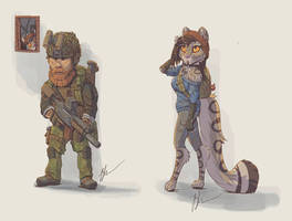 Post Apocalyptic character concepts