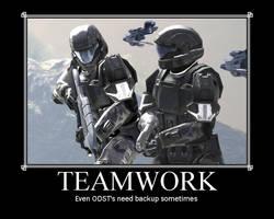 Team Work ODST Motivator by ODST-Training