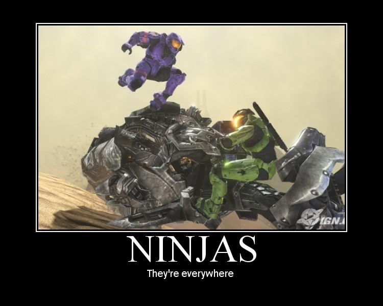 Ninjas by ODST-Training