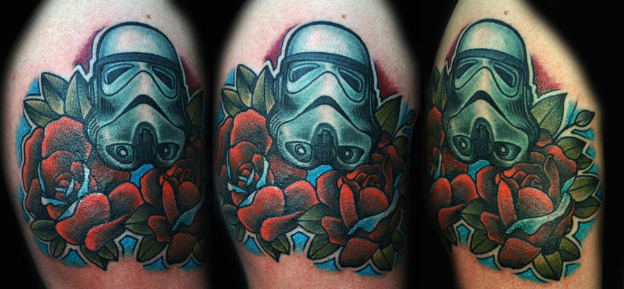 Romantic Stormtrooper by burakpln