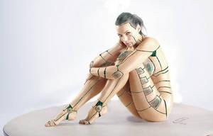 Cyborg by Monsterkatze