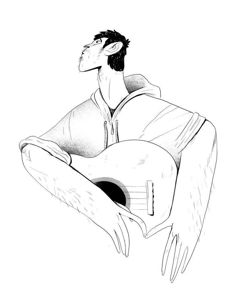 Guitar by ZigiCreator