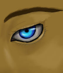 Blue Eyes See All by CormorantFeathers