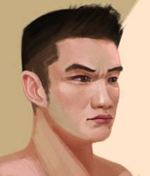 Self Portrait by Bushido-Arts