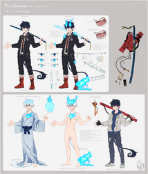 where has my life gone wrong aka i made cs for rin by Grinu