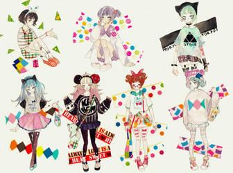 Tokyo Fashion by yuuta-apple