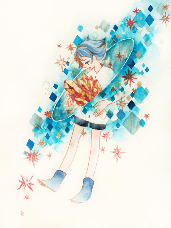 Shooting star by yuuta-apple