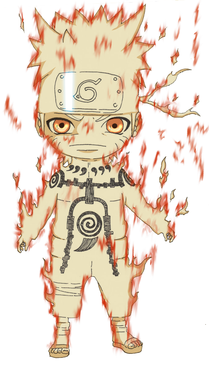 Chibi Naruto Kyuubi Form by Advance996 on DeviantArt