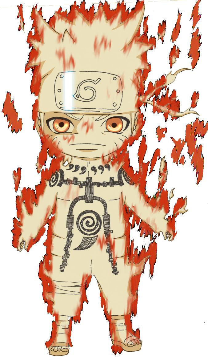 Chibi Naruto Kyuubi Form by Advance996 on DeviantArt