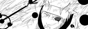 Rikudo/Juubi Sasuke Uchiha by Advance996