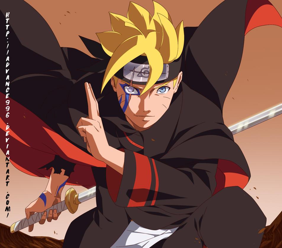 Uzumaki Boruto by Adva... Naruto Uzumaki Sage Mode Drawing
