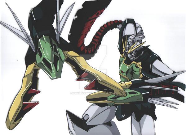 Gundam Wing Nataku Custom by BurningDevotion on DeviantArt