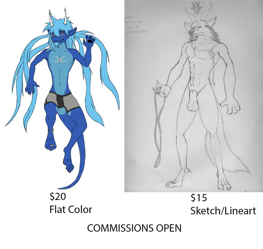 Quick Commission Pricelist by RyukaK