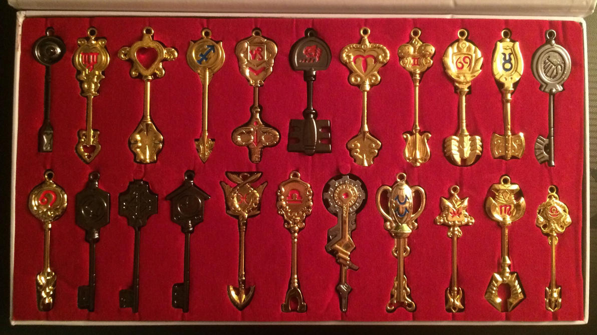 Celestial Keys (and others) by maracat0901