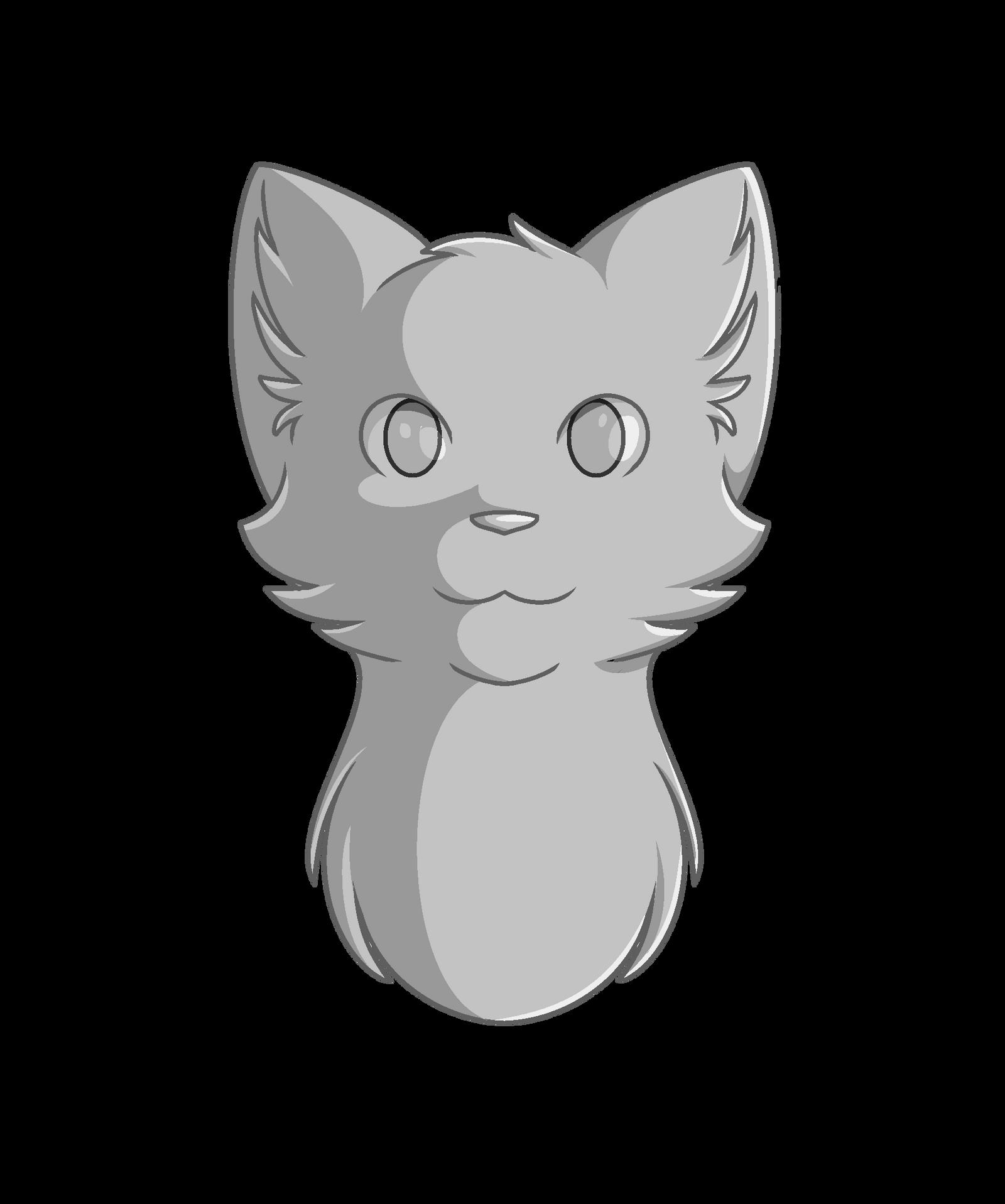 Uncategorized Cat Head Drawing cat head shot line art by maracat0901 on deviantart maracat0901