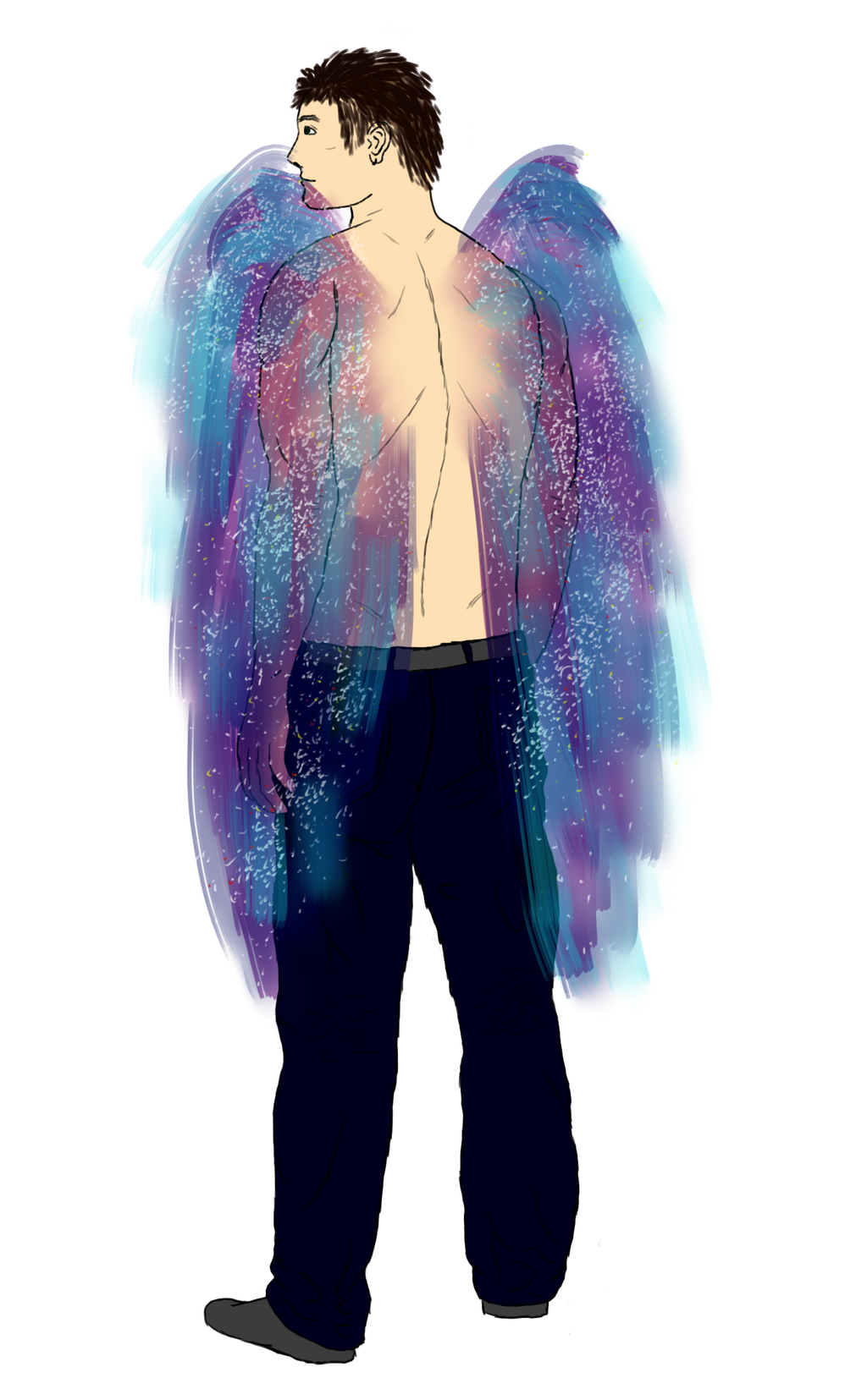 Ian's Wings by Longing-to-Belong