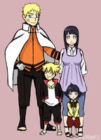 The Uzumaki family by Pin-guh